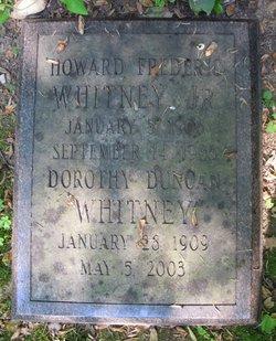 Dorothy <i>Duncan</i> Whitney