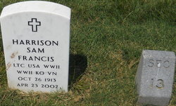 LTC Harrison Sam Francis