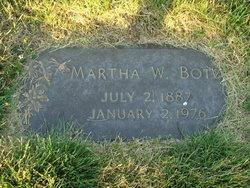 Martha W <i>Schweigel</i> Botz