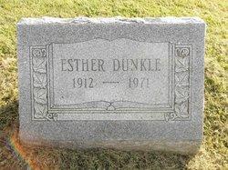 Ester <i>Rothrock</i> Dunkle