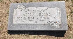Adele F <i>Jensen</i> Benke