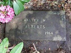 Walter W Alberts