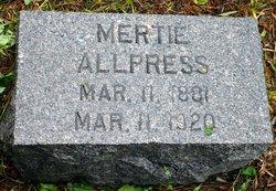 Mertie <i>Kelly</i> Allpress