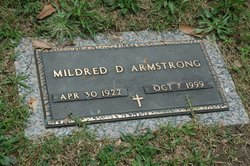Carrie Mildred <i>Duckworth</i> Armstrong