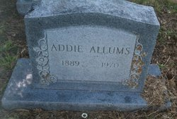 Addie Ida <i>Collins</i> Allums