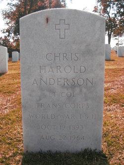 Chris Harold Anderson