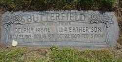 Delpha Irene <i>Howell</i> Butterfield