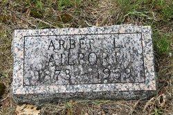 Arbert L Ailport
