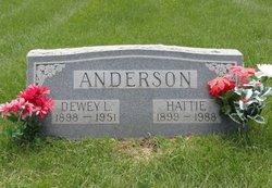 Hattie <i>Dillon</i> Anderson