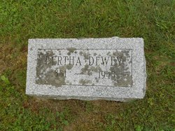 Bertha Frances <i>Preston</i> Dewey