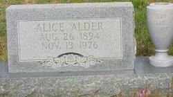 Alice <i>Pierce</i> Alder