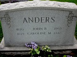 Caroline B. <i>Marion</i> Anders