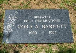 Cora Aneta <i>Richardson</i> Barnett