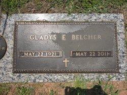 Gladys <i>Evans</i> Belcher