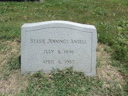 Bessie <i>Jennings</i> Ansell