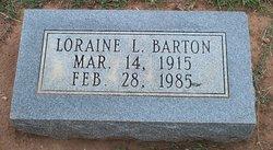 Loraine <i>Lewis</i> Barton
