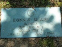 PFC Donald Merrill Ade