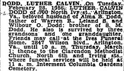 Luther Calvin Dodd