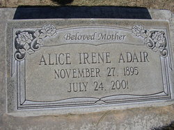 Alice Irene <i>Ewer</i> Adair