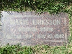 Marie <i>Eriksson</i> Eriksson