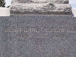 Bernadine M Alpenfels