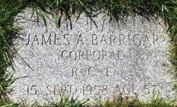 James Alexander Barrigar