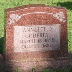 Annette B Nettie <i>Davis</i> Godfrey