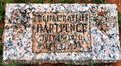 Lucille <i>Ratliff</i> Hartpence