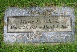 Marie E <i>Haskell</i> Adams