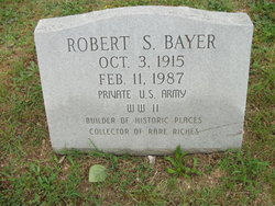 Pvt Robert S. Bayer