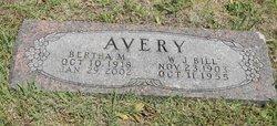 Bertha M Avery