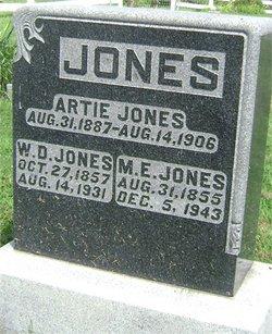 Artemisia Artie Mecia Jones