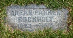 Orean Kittle Ora <i>Parker</i> Bockholt