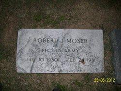 Robert J Moser