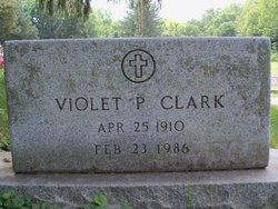 Violet <i>Veach</i> Clark