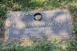 Lula <i>Dennis</i> Acree