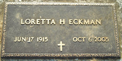 Loretta Frances <i>Henrich</i> Eckman