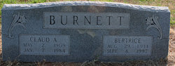 Claud Alphas Burnett