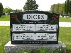 Garnet Calvin Dicks