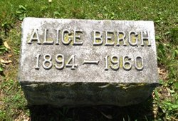 Alice <i>Curtis</i> Bergh