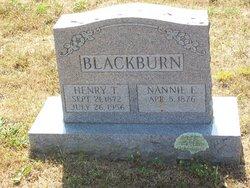 Henry T Blackburn