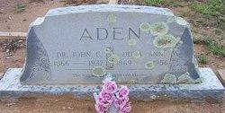 Dora Ann <i>Lineberger</i> Aden