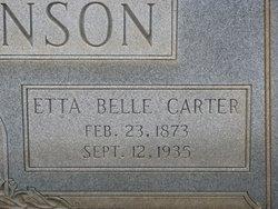 Etta Belle <i>Carter</i> Stephenson
