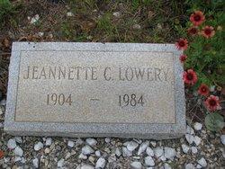 Jeannette <i>Carter</i> Lowery