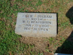 Lillie <i>Pegram</i> Blackburn