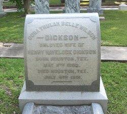 Cora Trulah Belle <i>Wilson</i> Dickson