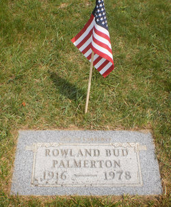 Rowland Chester Bud Palmerton