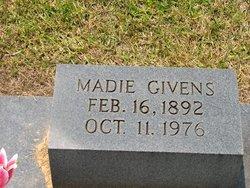 Madie <i>Martin</i> Givens