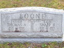 Thomas A Boone
