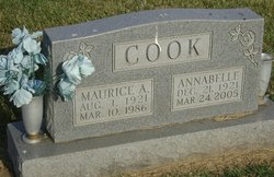 Maurice A Cook